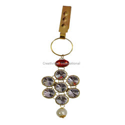 7 In 1 White Stone Hanging Brooches