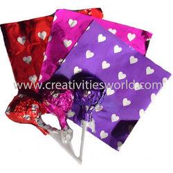 Cut Foil - Heart Mix Color  Sheet