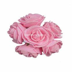 Pink Foam Flower Bunch