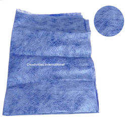 Blue Color jute material tissue sheet