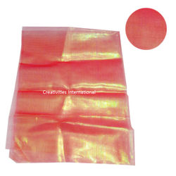Red color shiny tissue sheet