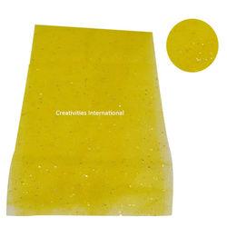 Yellow color rainbow tissue sheet