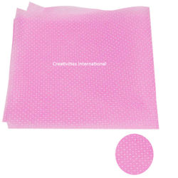 Pink color polka dot tissue sheet