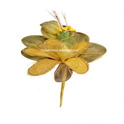 Yellow Jute Blossom  Net Flower