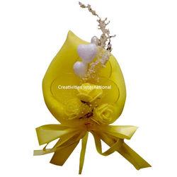 Calla Lilly Yellow Foam Flower