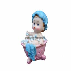 Bathing Tub Baby (Blue)