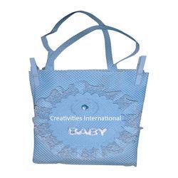Blue Chocolate Bag