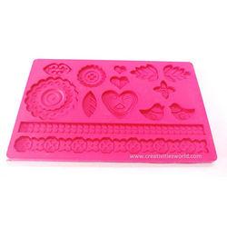 Pink Multi Shape Mat