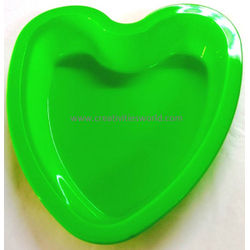 Tins Online - Heart shaped Baking Tin(GREEN)