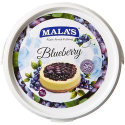 Mala's Bluberry Cake Filling 1 Kg