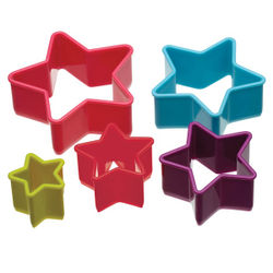 Multipurpose Acrylic star shape cutter (5 in 1)