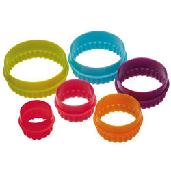 Multipurpose Acrylic Circle Frill cutter (6 in 1)
