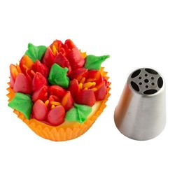 5 Petal Flower Russian Nozzle (Small Size)