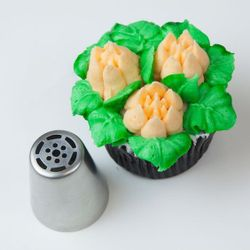 6 Petal Flower Russian Nozzle(Big Size)