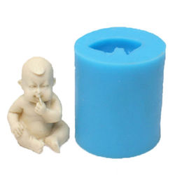 Sitting baby 3D Mould