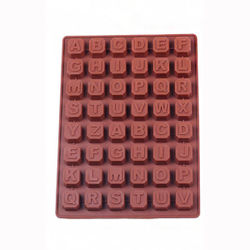 Alphabet chocolate mould-1