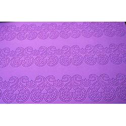 Flower Curves Designer Cake border Mat