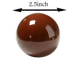 Sphere ball shape mould 2.5 inch