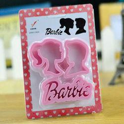 Barbie Theme Cutter Set