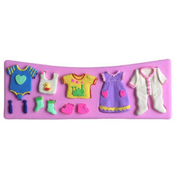 Baby Cloths Silicone Mould