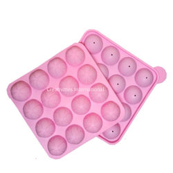 16 Cavity Silicone Cake Pop Mould