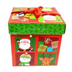 Christmas Santa Claus Gift Big  Box