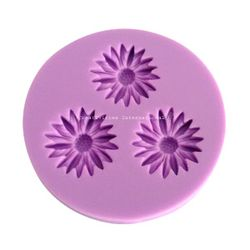 3 in 1 Sunflower Fondant Mold