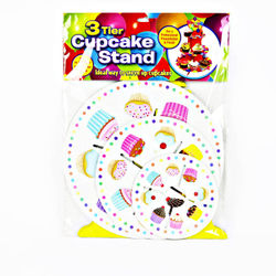 Cardboard Cupcake Stand (3Tier)