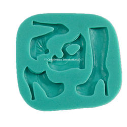 4 in 1 Ladies Sandal Silicone mould