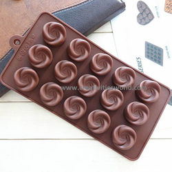 Garden Rose Chocolate mould