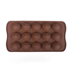 Smiley Faces Chocolate Mould
