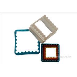 Square Frill Cutter (Multicolored)