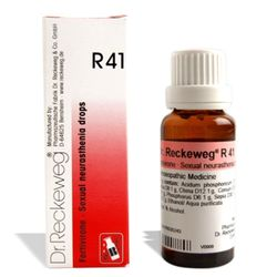 Dr.Reckeweg R41 drops for Sexual Weakness, Spermatorrhoea, Nervous exhaustion