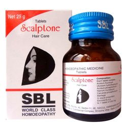 SBL Scalptone Tablets - Healthy Hair Roots (Internal Care)