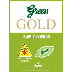 Greenply Gold Marine (Bwp) Grade Plywood Thickness 12 Mm Plywood