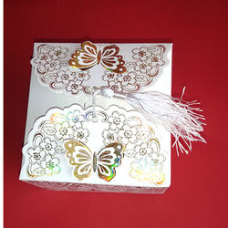 Golden Butterfly Chocolate Box