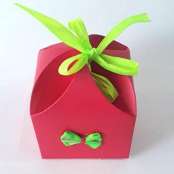 4 Petal Neyon Pink Box
