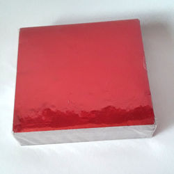 Red Plain Wrapping Papers
