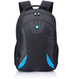 HP WZ453PA Laptop Bag  (Black & Blue)