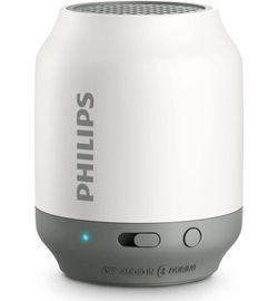 Philips BT50W Portable Bluetooth Mobile/Tablet Speaker  (White, 1 Channel) (Unboxed)