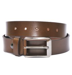 AMERICAN BROWN LEATHER BELT