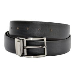 BALI ITALIAN REVERSIBLE LEATHER BELT WITH TURN BUCKLE