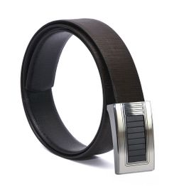 EXECUTIVE REVERSIBLE LEATHER BELT WITH AUTOLOCK BUCKLE