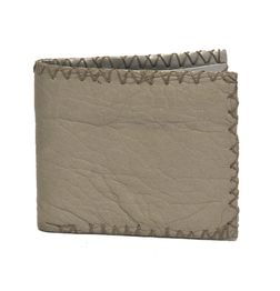 HIDEMARK VINTAGE STYLE LEATHER WALLET - BEIGE