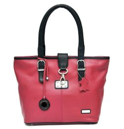 DESIGNER LEATHER SATCHEL HANDBAG