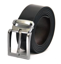 FORMAL REVERSIBLE LEATHER BELT