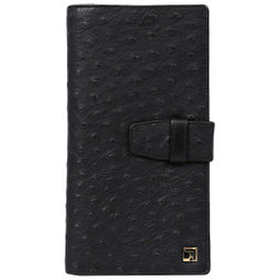 Da Milano Pc-0145A Black Ost Passport Case