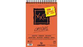 Canson XL Croquis 90 GSM A4 Album of 120 Fine Grain Sheets