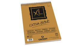 Canson XL Extra White 90 GSM A3 Album of 120 Fine Grain Sheets
