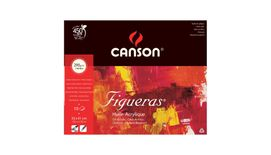 Canson Figueras 290 GSM 33 x 41 cm Pad of 10 Canvas Grain Sheets